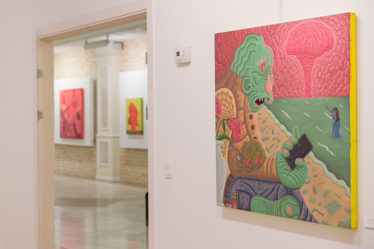 """Artists Louie Cordero & Ali Elmaci Unveil Surreal Paintings For """"The Portrait"""" Exhibit"""
