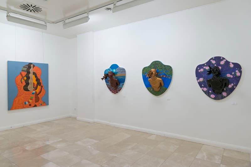 louie cordero ali elmaci the portrait exhibition saint pulcherie turkey artworks