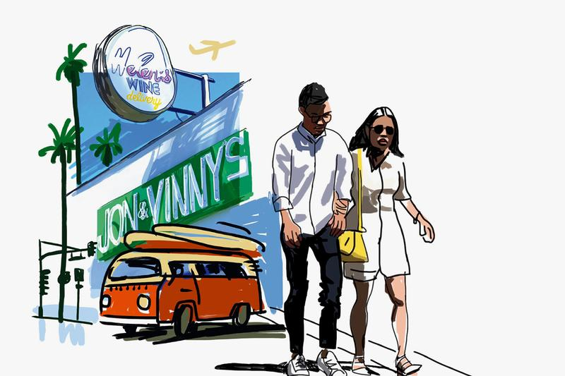 Louis Vuitton Travel Book Javier Mariscal Los Angeles Series Limited Edition Artworks Drawings Sketches neon lights slogans shop signs billboards logos