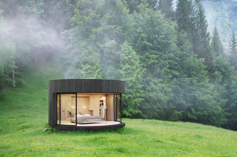 Lumicene Lumipod Prefabricated Cabin Info