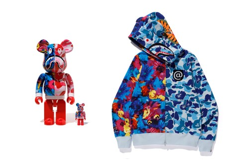 BAPE, Medicom Toy and Mika Ninagawa Debut Full, Color-Saturated Capsule Collection