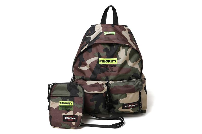 """Magic Stick Eastpak Backpack """"Priority"""" Shoulder Bags Neck Pouches Toyko Japan Spring Summer 2019 SS19 Accessories Black Camouflage Grey Melange Special Limited Edition Customization Golden Week"""