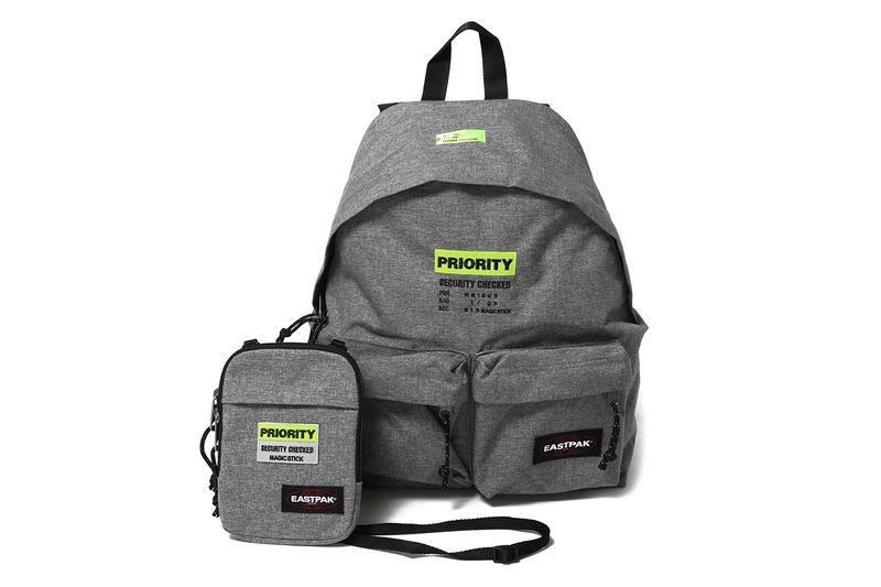 "Magic Stick Eastpak Backpack ""Priority"" Shoulder Bags Neck Pouches Toyko Japan Spring Summer 2019 SS19 Accessories Black Camouflage Grey Melange Special Limited Edition Customization Golden Week"