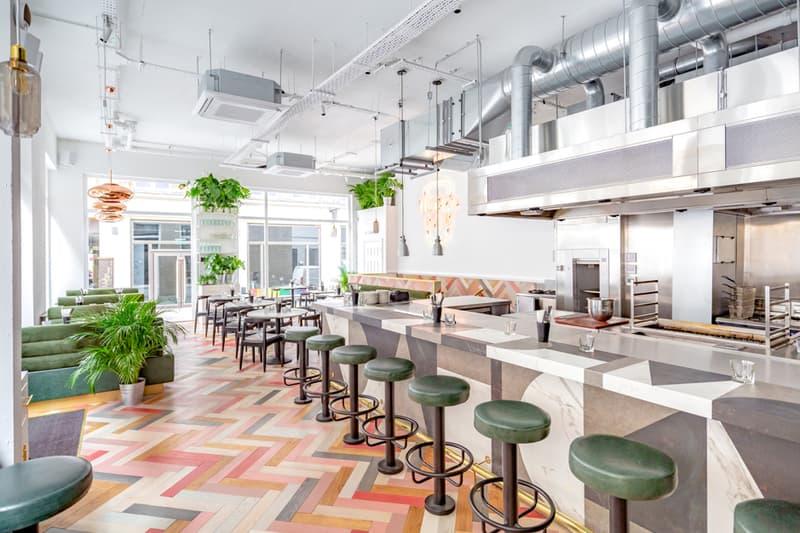 Best CBD Restaurants Bars London UK Maison Bab Farmacy Kitchen Yogland Behind This Wall Kalifornia Kitchen Glow Bar London