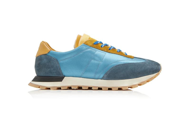 maison margiela colorblocked suede lowtop low top sneakers shoes spring summer 2019 release
