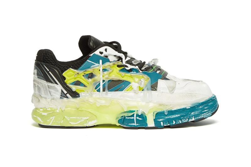 Maison Margiela Gets Colorful With Summer-Ready Glue-Covered Fusion Low