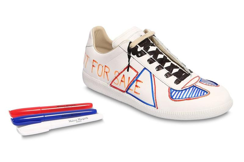 Maison Margiela Wants You to Color on These Replica Sneakers