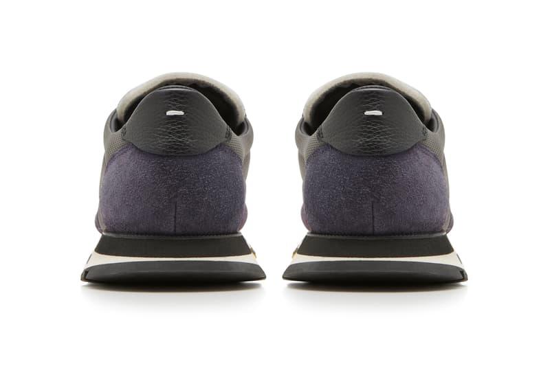 Maison Margiela Paint Splattered Suede Mesh Sneakers Info Release 714733 grey