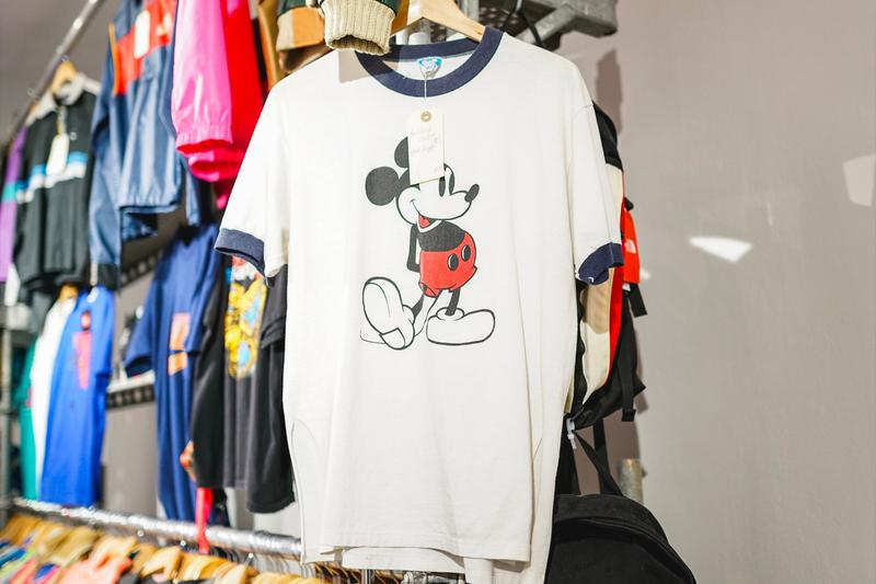 Maison Mère Opens Vintage Nike Dr drx Romanelli Mickey Mouse Clothing Pop Up Store paris france structure