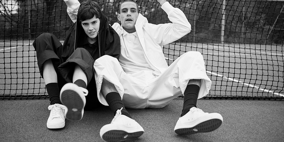Margaret Howell X Fred Perry SS19 Capsule Collection