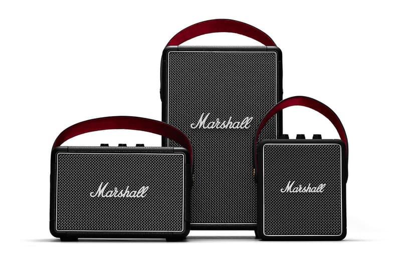 Marshall Stockwell II Tufton Bluetooth Speakers Info portable kilburn