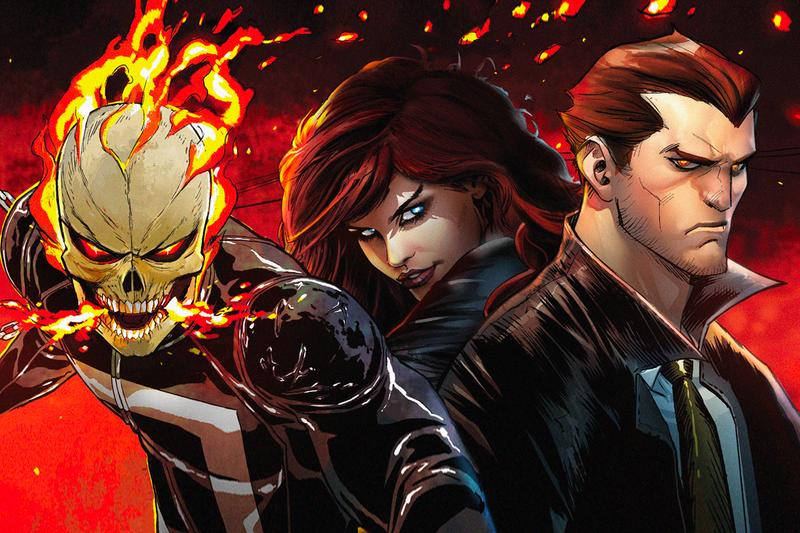 Marvel Live-Action Ghost Rider Helstrom Hulu Series Release info date 2019