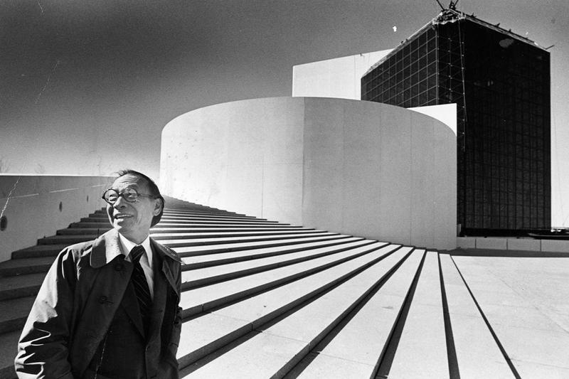 Master Architect I M Pei Obituary architecture art design national gallery of art washington louvre paris glass pyramid new york