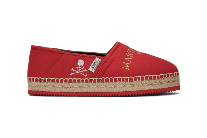 mastermind WORLD x Suicoke Logo Embroidered Espadrilles