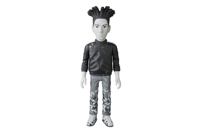 Medicom Toy Jean-Michel Basquiat Vinyl Figure Release toys collectibles pop-culture art new york JMB painter artwork toy