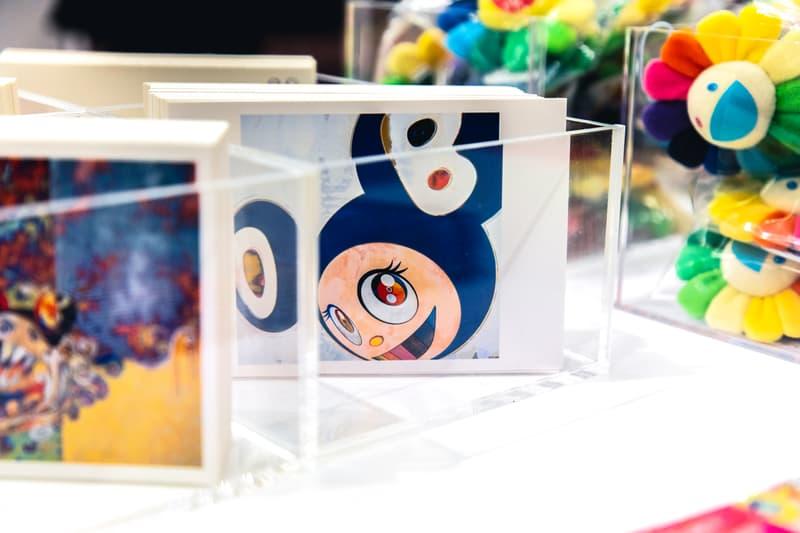 MURAKAMI vs MURAKAMI Exhibition Merch Full Look All Items Plush