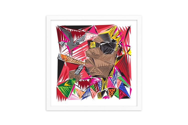 6f2b51afb23c Artist Naturel Celebrates The Notorious B.I.G.'s Birthday With 'Picasso  Biggie' Print
