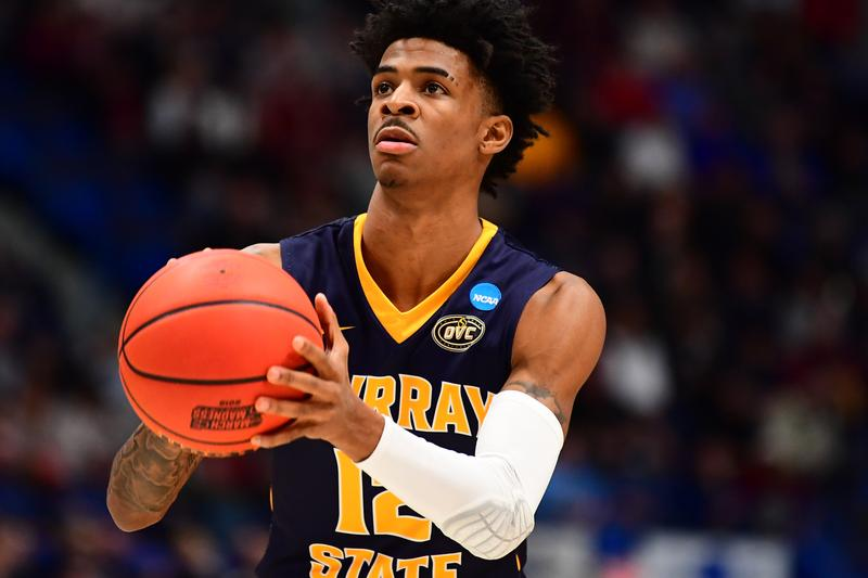 NBA Prospect Ja Morant Multi-Year Nike Deal Draft College NCAA