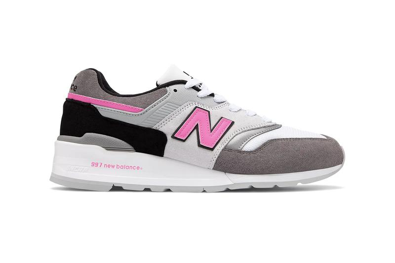 """New Balance Releases 997 Made in U.S.A. in Clean """"Grey/Pink"""" Colorway"""