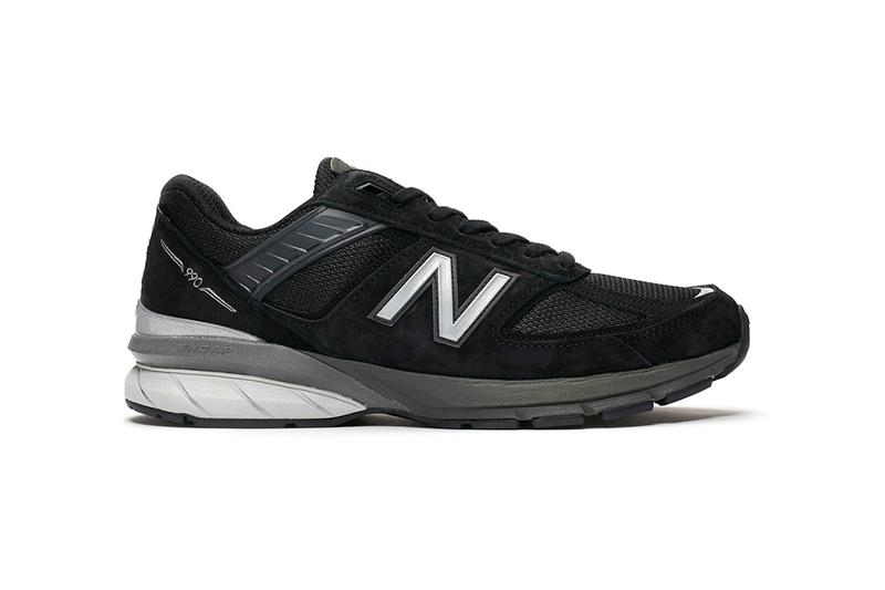 New Balance M990BK5 Black/Silver Made In USA