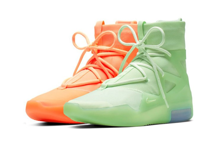 4b88e7c3 Bright Colors for the Summer Hit the Latest Nike Air Fear of God 1 Pack.  Footwear