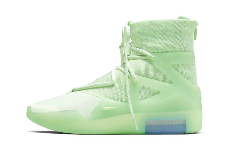 Nike Air Fear of God 1 Frosted Spruce Orange Pulse Release Info AR4237-300 AR4237-800 jerry lorenzo