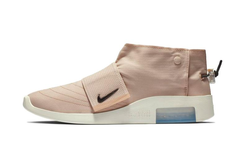 """Nike Air Fear of God Moc """"Particle Beige"""" release date drop info may 17 2019 colorway"""
