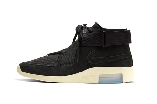 "The Nike Air Fear of God Raid ""Black/Black Fossil"" is Releasing This Week"