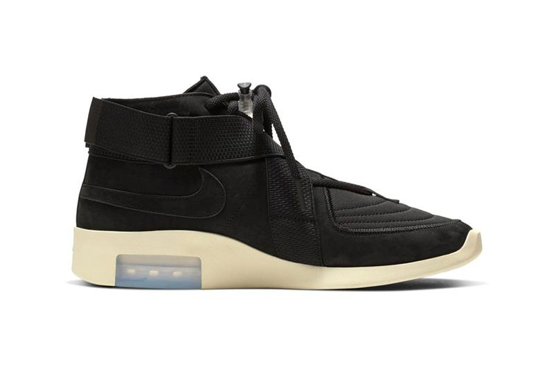 Nike Air Fear of God Raid Black Fossil Release Info jerry lorenzo
