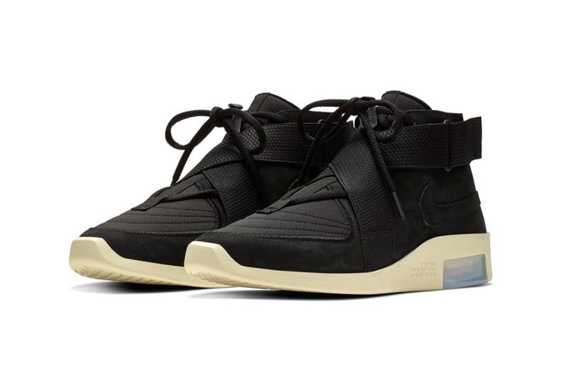 "Nike Air Fear of God Raid ""Black/Black Fossil"" release price sneaker where to buy 2019 collaboration raffle"