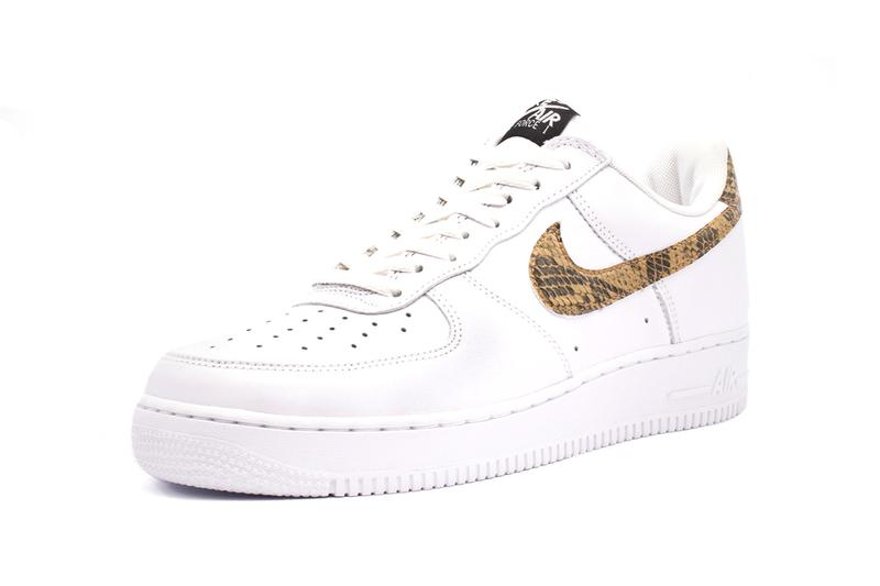 Nike Air Force 1 Low Premium Ivory Snake Release Info AO1635-100