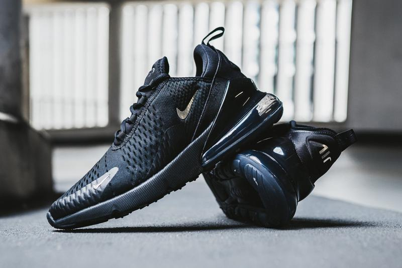 nike air max 270 black chrome pure platinum anthracite colorway sneaker release