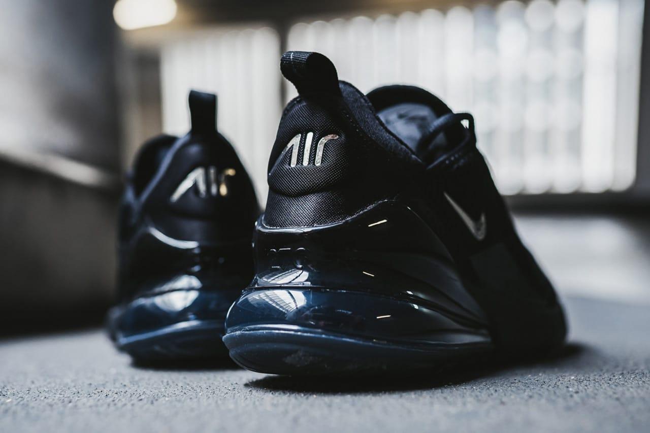 Nike Air Max 270 Black/Chrome/Pure