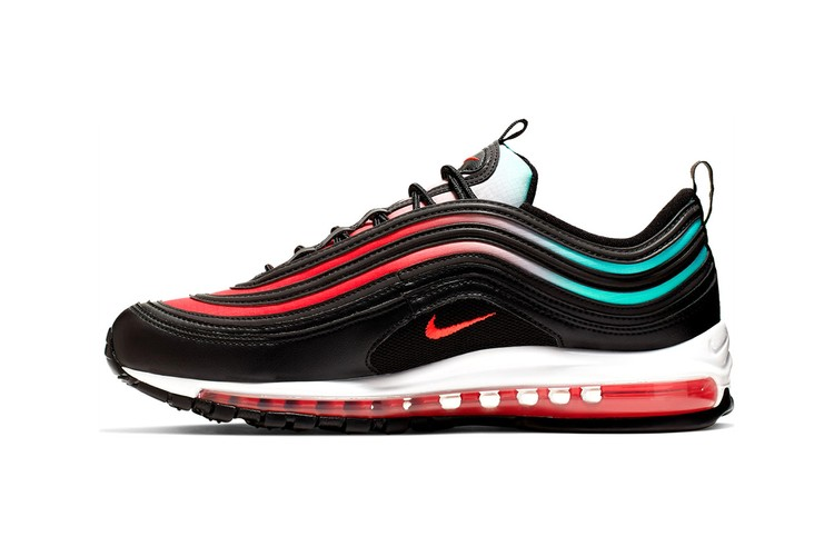 newest f8fd1 b8042 Nike Reworks Air Max 97 With Heat Map-Themed Colorway