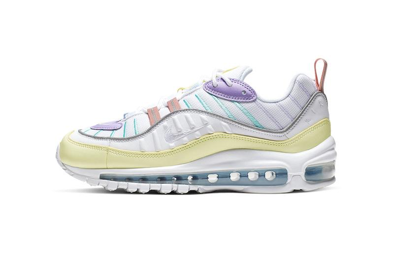 best website 68d5b dfc15 Nike Air Max 98 Pastel Release Info easter theme AH6799-300 price release  info drop