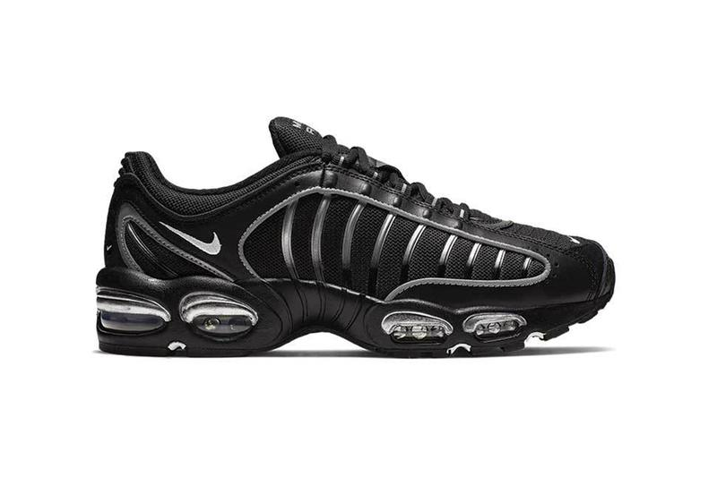 reputable site 1e175 e1ae2 Nike Air Max Tailwind IV Black Metallic Silver