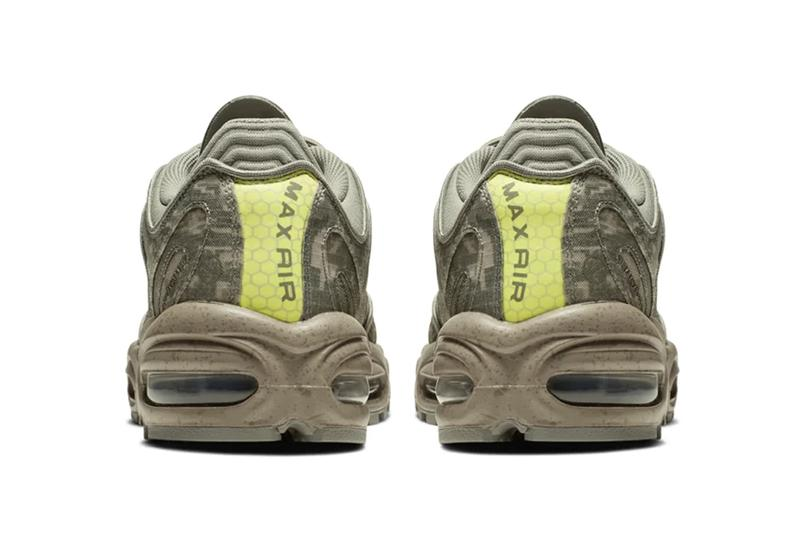"Nike Air Max Tailwind IV ""Digi-Camo"" Sneaker Release Information Drop Information Ripstop Upper Volt Details Mini Swoosh Branding Speckled Sole Unit Retro"