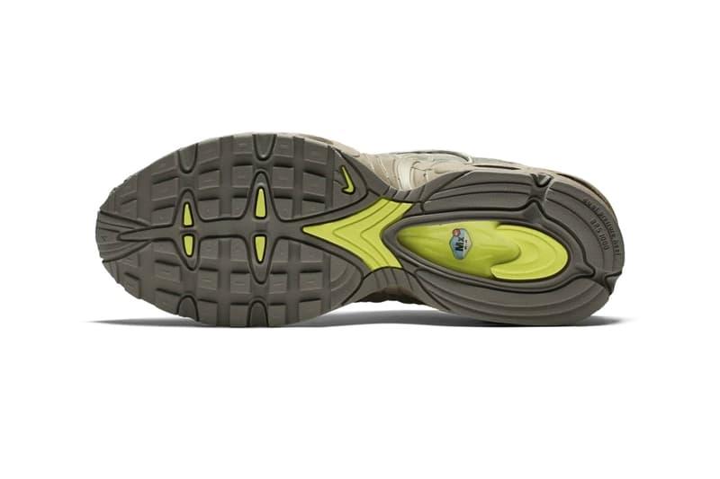 "Nike Air Max Tailwind IV ""Digi-Camo"" Sneaker Release Information Drop Information Ripstop Upper Volt Details Mini Swoosh Branding Speckled Sole Unit Retro"