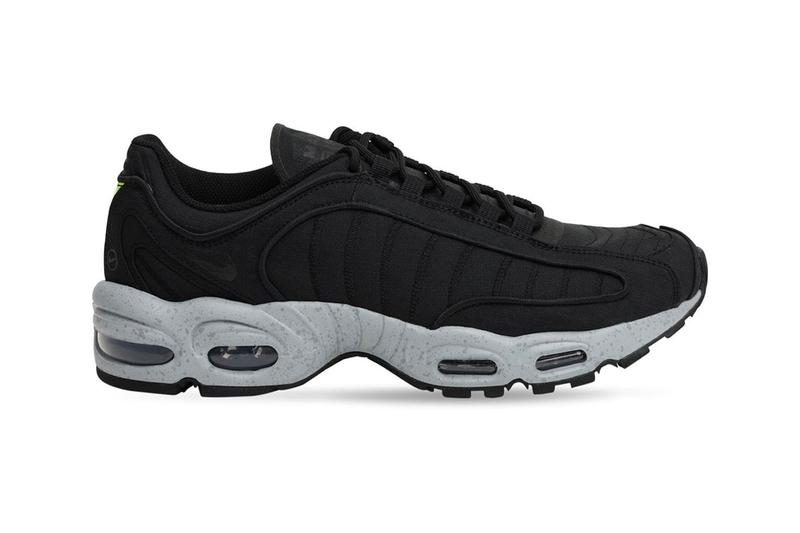 This All-Black Nike Air Max Tailwind Iv Is Electrified With Volt Hits