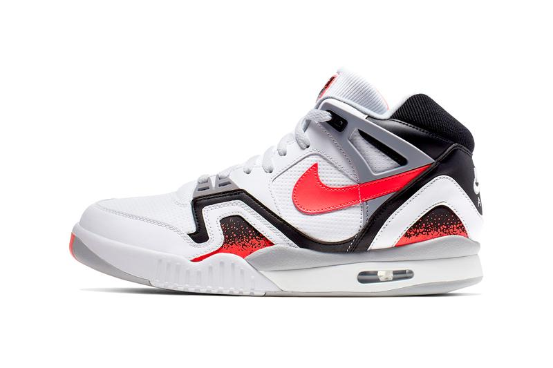 7499247993 Nike Air Tech Challenge 2 Hot Lava CJ1437 100 andre agassi sneakers shoes  white red black