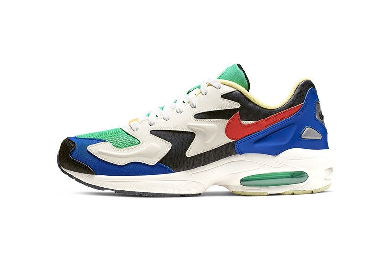 Nike's Latest Air Max 2 Light SP Clad In Vivid Multi-Hued Panels