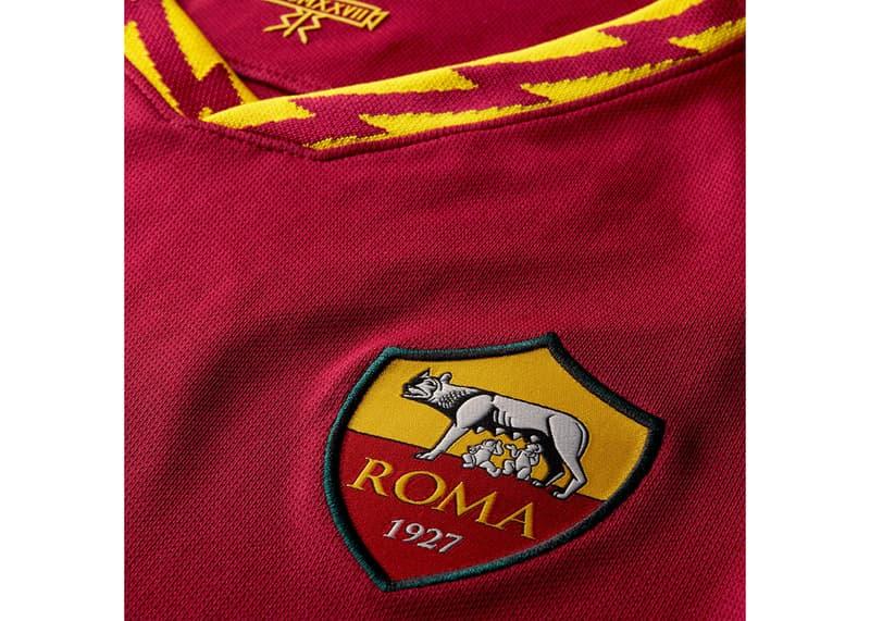AS Roma 2019/20 home jersey italy serie a juventus inter milan kit nike roman god lightning bolt