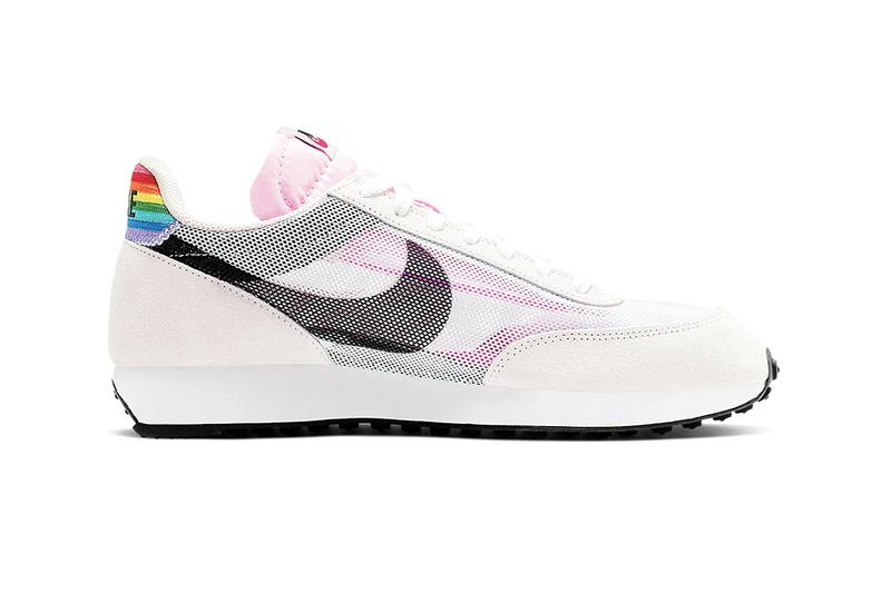 nike betrue 2019 collection full look first release details info air max 720 tailwind 79 benassi jdi slide zoom pegasus turbo rainbow gilbert baker lgbtq pride