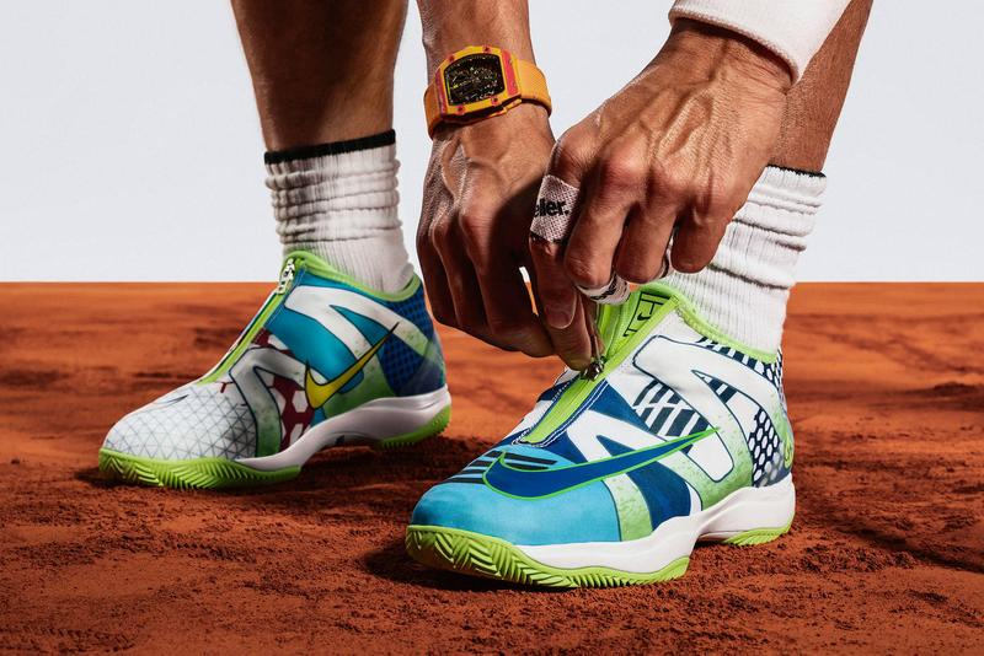 "Nike Honors Rafael Nadal With Cage 3 Glove ""What The"" Rafa"