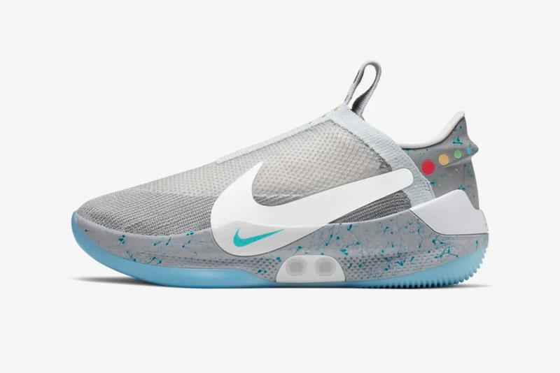 Nike's Auto-Lacing HyperAdapt Surfaces in MAG Colorway for the Basketball Court