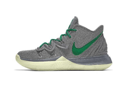 "Nike Kyrie 5 Adds ""By You"" Customization Options & Glow-in-the-Dark Soles"