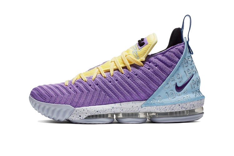 the best attitude 3c2a3 18e64 The Nike LeBron 16 Gets Updated In Bright Throwback Pastels