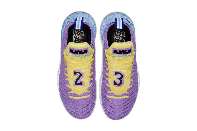 "Nike LeBron 16 ""Heritage"" sneakers lebron james swoosh"