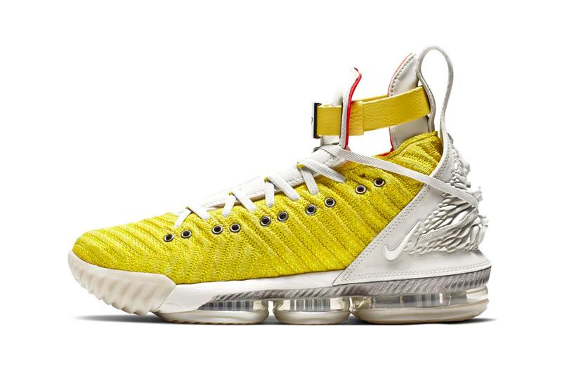 2cc6feb8df3e HFR x Nike LeBron 16 Harlem Stage Yellow Release