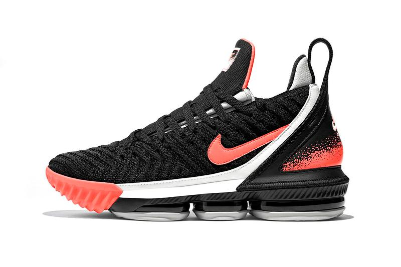"new product 66b65 c278a Nike LeBron 16 ""Hot Lava"" Release"